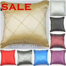 "5 x Square Embroidered 100% Polyester Cushion Cover 18""x18"" Cushion Covers"