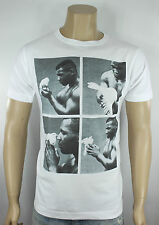 Mike Tyson T-Shirt White Boxing Legend Iron Kid Dynamite KO Heavyweight Champion