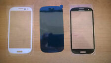Samsung Galaxy S3 outer LCD glass Original S 3  Lens i9300 with adhesive OEM