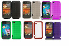 Soft TPU Crystal Skin Cover Case for LG Mytouch (2011) LG Maxx Touch E739 Phone