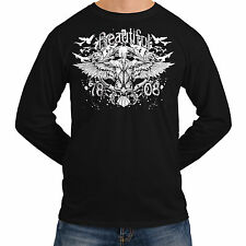 Wellcoda | NEW Beautiful Ghost Mens Womens S-2XL Long Sleeve T-Shirt *o289