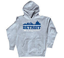 Detroit We're Doing Our Best Michigan Football Funny Gun City - Mens Hoodie