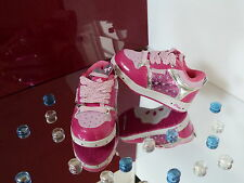 PASTRY LIGHTUP STARLIGHT GIRLS TODDLER SHOES TRAINERS PINK CHRISTMAS GIFT