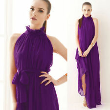 Sexy Women Evening Party Long Cocktail Dress ResortDress Prom Gown Club Outdoor
