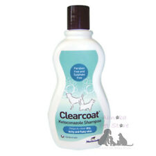 Norbrook Clearcoat Ketoconazole Shampoo Conditioner Dog Cat Dry itchy Flaky Skin
