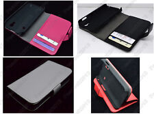 Multi Color Leather Cover Flip Case HOLDER WALLET For Samsung Galaxy Ace S5830