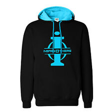 "Big and Tall Hoodie LT – XXXLT "" InspireOthers"" Black Fleece Sweatshirt"
