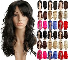 "US Clearance Sale Vogue 19"" Women's Hair Wigs Long Cosplay Party Colorful Wig TH"