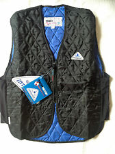 Black Cooling Vest Motorcycle Cycling Sports Construction Work Safety Outerwear