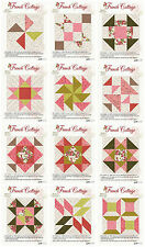 2014 FRENCH COTTAGE QUILT OF THE MONTH Blocks 1-12 NIP