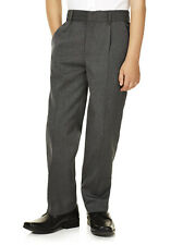 Ex F&F Boys School trousers Gray/Black AGES 3-16 years