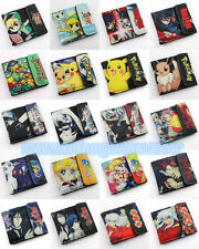 FAIRY TAIL Legend of Zelda Wallets Pikachu Sailor Moon Tokyo Ghoul Nylon purse