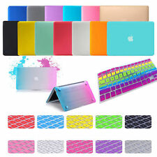 Laptop Matt Rubberized Hard Case Keyboard Skin Cover For MacBook Air Pro11 13 15