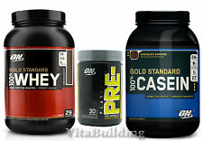 Gold Standard Whey Casein Combo with Platinum Pre RL, Optimum Nutrition, Protein