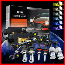 55W XENON HID CONVERSION KIT HI/LO HEADLIGHT HEADLAMP BULB H7 H1 H3 H4 9005 9006