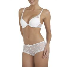 Passionata White Nights Push Up Bra in White 34A and 36D RRP £35