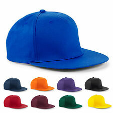 Flat Peak Snapback Rapper Hip Hop Cap Basketball Funky Adult Baseball Cap