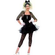 Adults 1980's Wild Child Celebrity Fancy Dress Costume - Ladies Madonna 80s