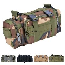 Utility 3P Military Tactical Duffle Waist Bags Molle Assault Backpack USA