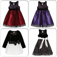 RMLA Girls Toddler Holiday/Party Dresses, Assorted Colors, 2T, 3T, 4T