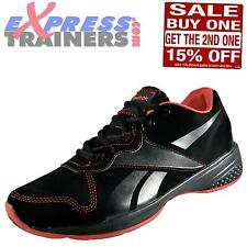 Reebok Womens Dynamic Step Low 3 Fitness Gym Workout Trainers Black *AUTHENTIC*