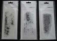 (U Choose) Acrylic Stamps 3 Styles ~ Arty Distress Sketchy ~ Stamping Cardmaking