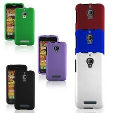 Matte Multicolor Snap On Case Hard Skin Cover Phone for ALCATEL One Touch Fierce