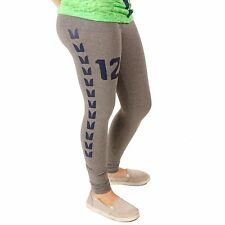 Seattle Seahawks Gray Lady Ankle Length Leggings