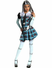 Child Frankie Stein Costume Monster High Girls Fancy Dress Halloween Outfit