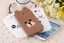 3D Potato Bear Rabbit Soft Back Case Mobile Cover for Samsung Galaxy S3 I9300