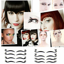 4 Pairs Fashion Eyeliner Stickers Temporary Makeup Tattoo Eye Liner
