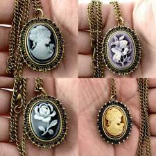Necklace Pocket Antique Gift Watches Quartz Pendant Vintage Steampunk New Flower