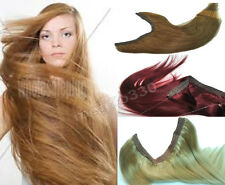 Halo Flip Miracle Wire Drawstring Indian Remy Natural Human Hair Extensions