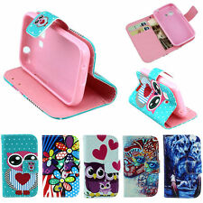 Christmas Chic Wallet Protector Shell Dust Case For Samsung Galaxy Young 2 G130