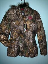 Official License Realtree Women's Hunting Camo Bubble Jacket
