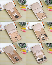 Ultra thin Gold Disney Hello kitty case cover for Apple iPhone 5 5s 6 & Plus New
