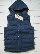Fat face shower resistant puffa red or blue bodywarmer gilet Sizes XS - XL