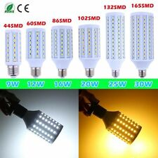 E27 5050 SMD 9W 12W 16W 20W 25W 30W LED Corn Light Lamp Bulb Spotlight 110V 220V