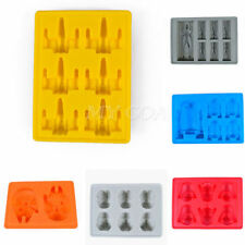 Silicone Star Wars Ice Cube Tray Mold Cookies Chocolate Soap Baking Mould DIY
