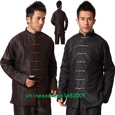 black Handsome Chinese Style Men's Party Jacket/Coat  S--3XL
