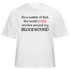 BLOODHOUND - AS A MATTER OF FACT T-SHIRT - Sizes Small through 5XL