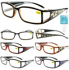 New Cheetah Plastic Double Temple Animal Pattern Reading Glasses + FREE GIFT!