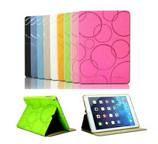 HQ KAKU Slim Thin Flip Cover for Apple iPad Tablet Leather Case Stand Accessory