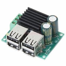 NEW DC 12V 24V 40V to 5V 4 USB Step Down USB Step-down Power Supply Module - UK