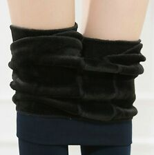 New Women's  New Winter Thick Warm Fleece Lined Thermal Stretchy Leggings Pants