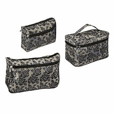 Royal Rose Couture Vanity Make Up Cosmetics Toiletries Bag Case