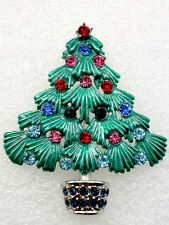 12 Pcs / one dozen of The of Christmas tree Brooch wholesale  C101504
