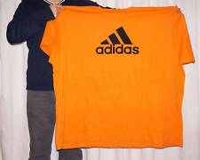 Adidas Men's Big & Tall Orange T-Shirt - 2XL, 3XL, 4XL, 5XLT, 7X, 8X