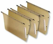 A4 Foolscap Hanging Suspension Files Tabs Inserts Office Filing Cabinet Folders
