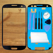 LCD Screen Glass Lens For Samsung Galaxy S3 i9300 I747 T999 6 colors